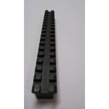 "Picatinny Rail blank - 180mm 1/2"" square"