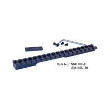 Savage Model LA with Spacer , picatinny rail