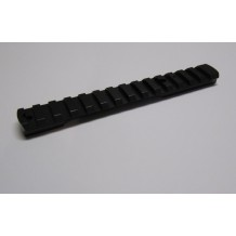 Omark Picatinny Rail - 1p - 20Moa 150mm machined in (steel)