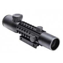 Tri - Rail Picatinny Rifle Scope 2-6 x 28